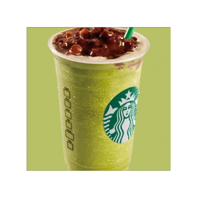 Red Bean Green Tea Frappuccino Starbucks