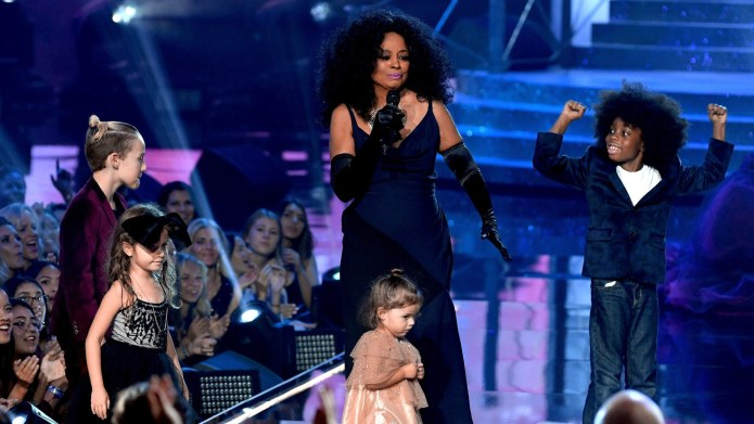 Diana Ross's Grandkids Were the Real