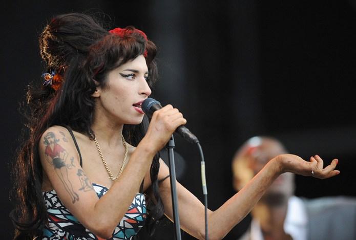 Amy Winehouse V2008 festival at Hylands