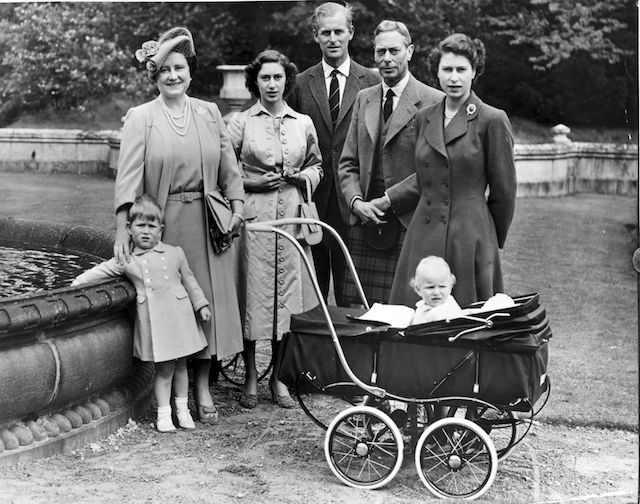 The Royal Family during a visit to Balmoral Castle