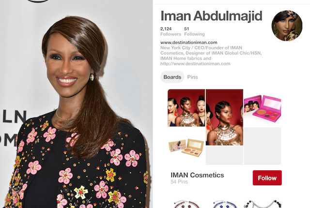 Celebs on Pinterest: Imian Abdulmajid