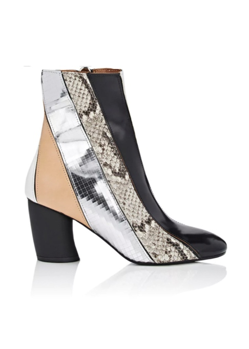 Fall Boots To Shop Before They Sell Out: Proenza Schouler Patchwork Leather Ankle Boots | Fall Fashion Trends 2017
