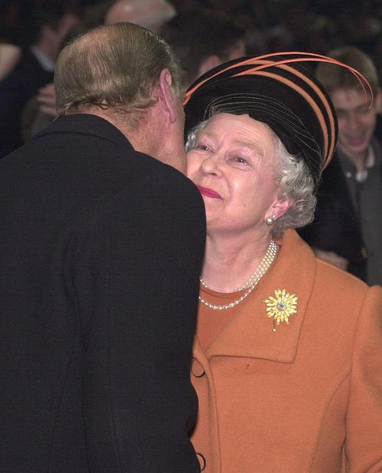 Queen Elizabeth II & Prince Philip in 1999