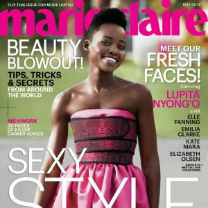 Marie Claire's May cover girls: Nyong'o,
