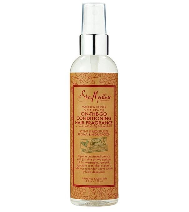 Perfect Summer Fragrances: Shea Moisture Manuka Honey & Mafura Oil Hair Fragrance | Summer Style 2017