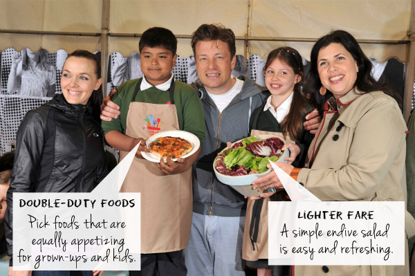 Jamie Oliver at the Food Revolution Day