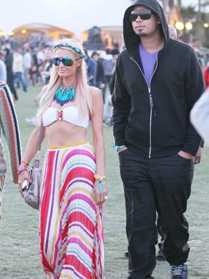 Paris Hilton and DJ Afrojack