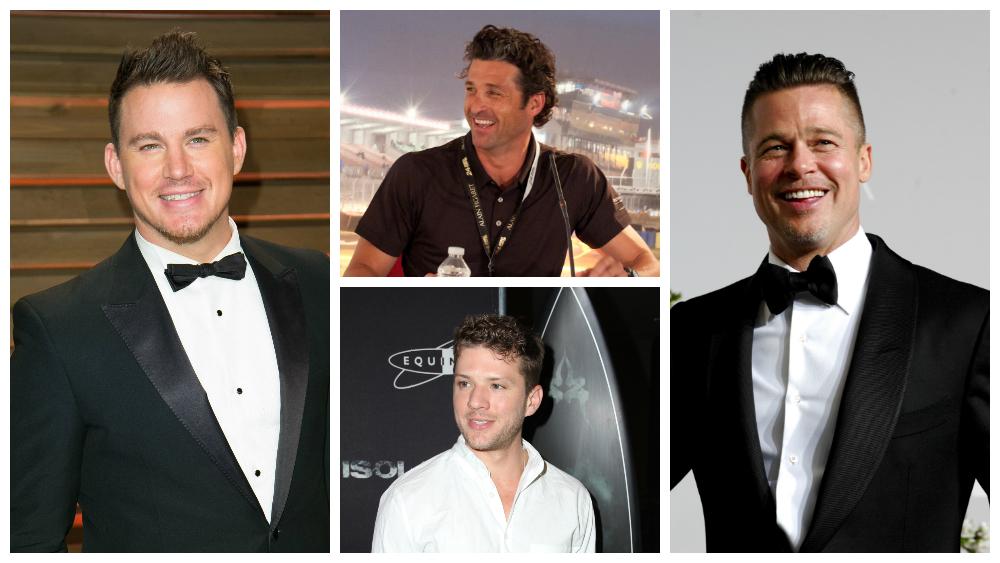 Channing Tatum, Ryan Phillippe, Patrick Dempsey, Brad Pitt
