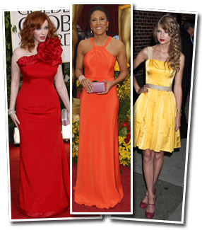 Celeb dresses