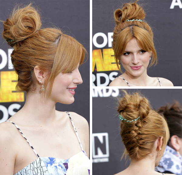 Celeb Hairstyle of the Week: Bella Thorne