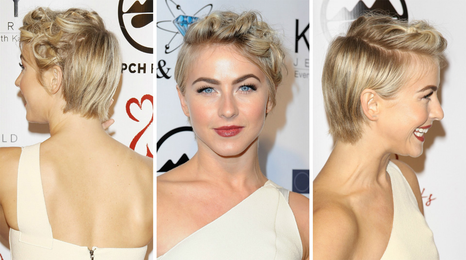 Julianne Hough Has A Genius Way To Wear A Grown Out Pixie Sheknows