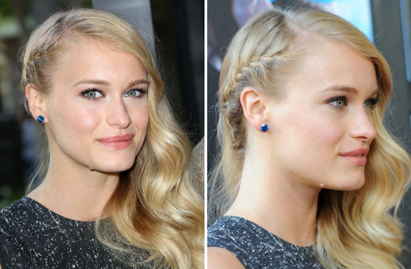 Leven Rambin at the Percy Jackson: Sea of Monsters premiere