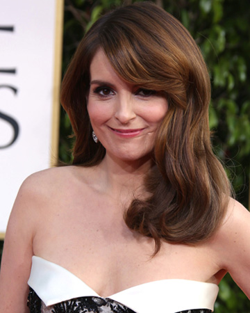 Tina Fey at the 2013 Golden Globes