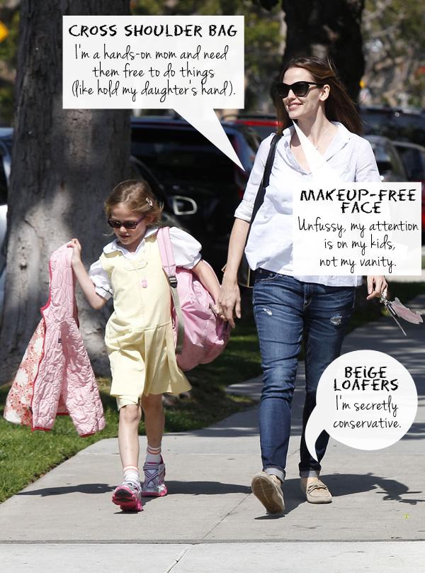 Celebrity mom: Jennifer Garner