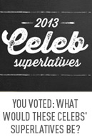 Celeb superlatives