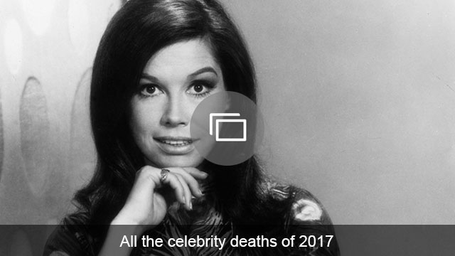 Celeb deaths 2017 slideshow