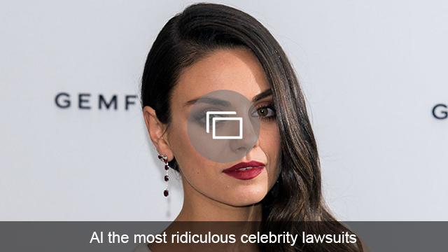 Celeb lawsuits slideshow