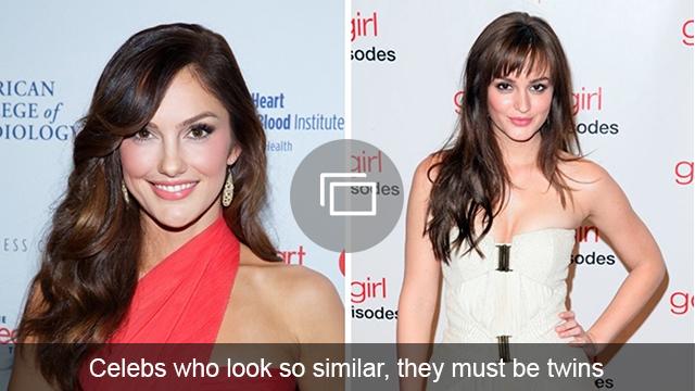 celeb look alike slideshow