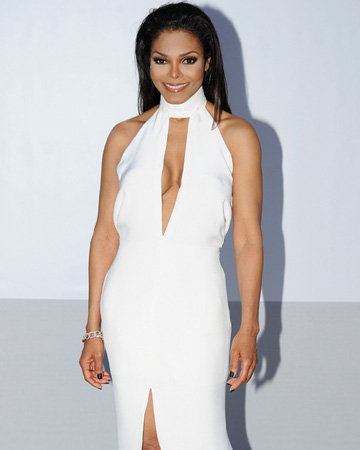 Janet Jackson after weight loss