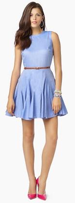 Blue pastel dress