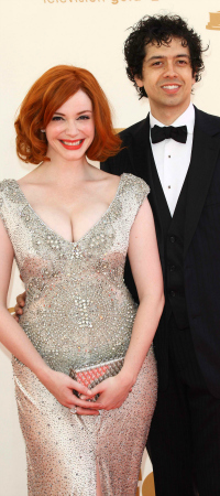 Christine Hendricks and Geoffrey Arend