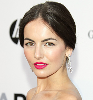 Camilla Belle's full brows