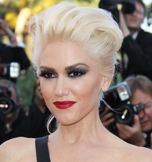Gwen Stefani's red pout