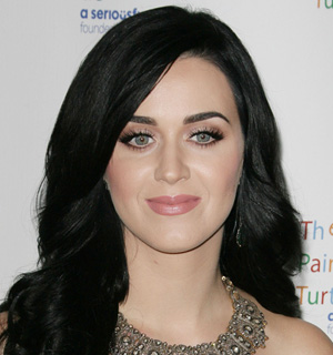 Katy Perry's ultra-long lashes