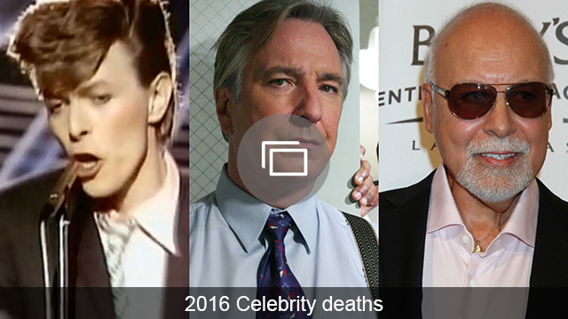 celebrity deaths 2016 slideshow