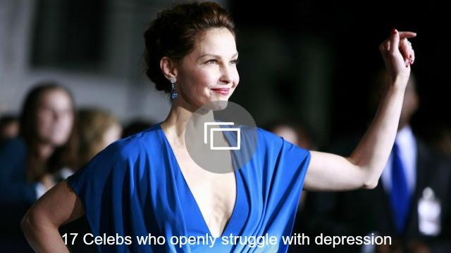 celebrity depression slideshow