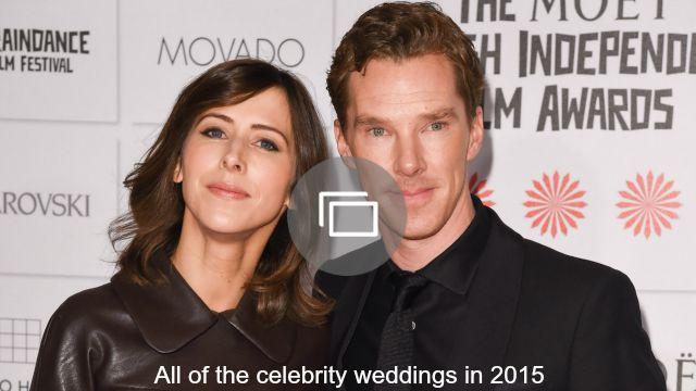 celebrity weddings 2015 slideshow