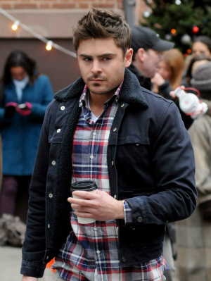Actor Zac Efron