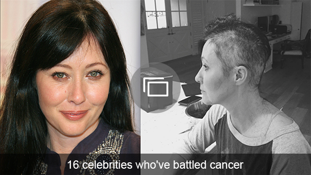 celebs battle cancer slideshow