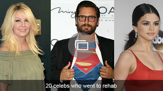 Celebs rehab slideshow