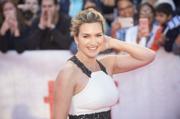 Kate Winslet attends the Mountain Between Us premiere at the Toronto International Film Festival