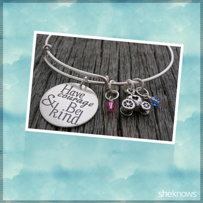 Have Courage & Be Kind bracelet