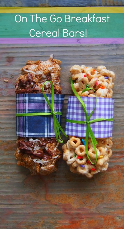 on the go breakfast cereal bars