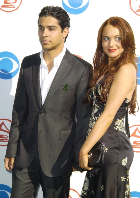 Wilmer Valderrama and Lindsay Lohan