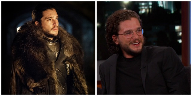 These 'Game of Thrones' characters look totally different in real life: Jon Snow vs. Kit Harington
