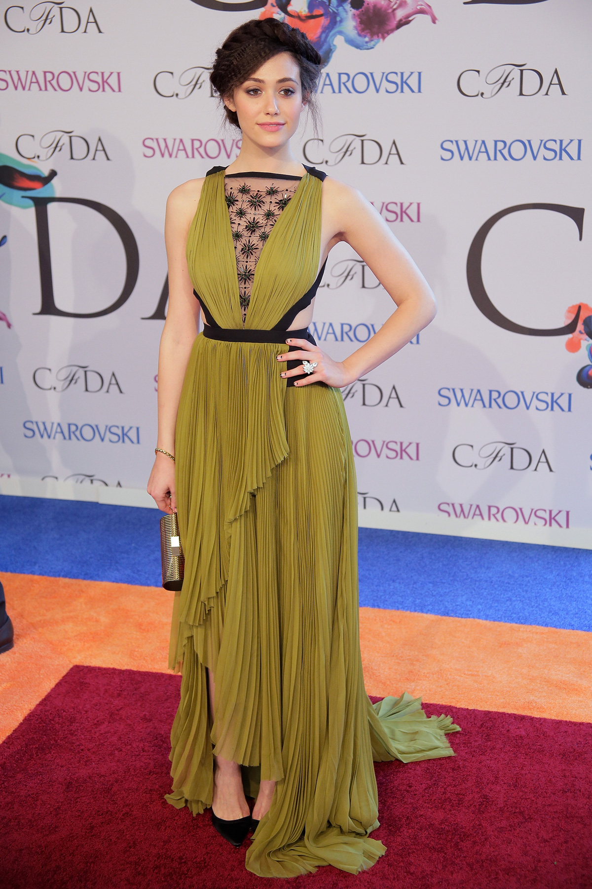 Emmy Rossum at the 2014 CFDA