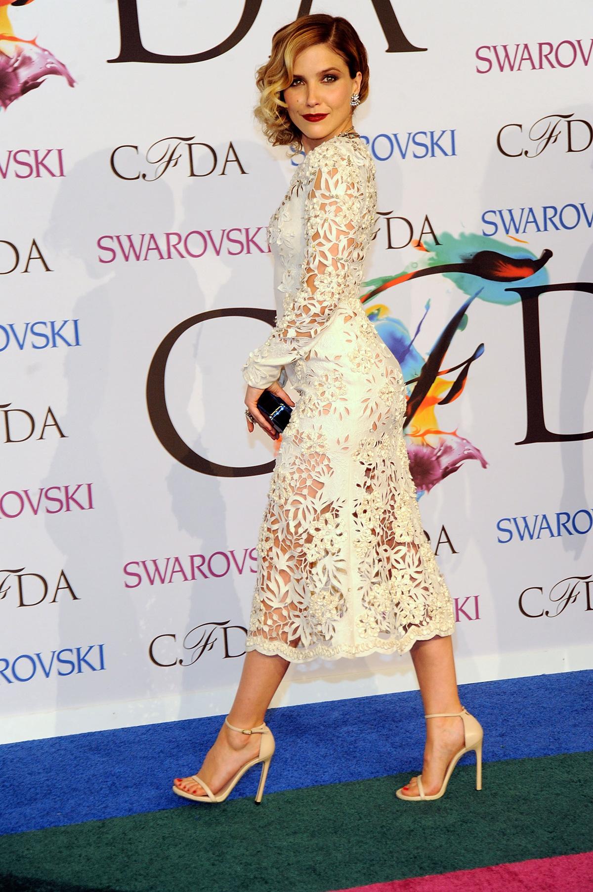 Sophia Bush at the 2014 CFDA