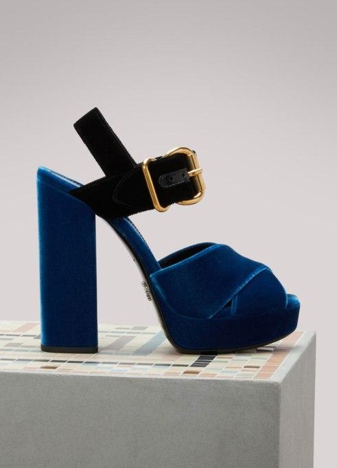 Modern Pieces For Every Woman's Work Wardrobe | Prada platform sandals