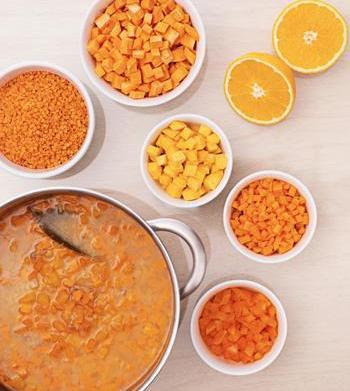 The health benefits of orange fruits