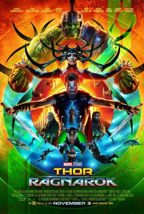 'Thor: Ragnarok' movie poster