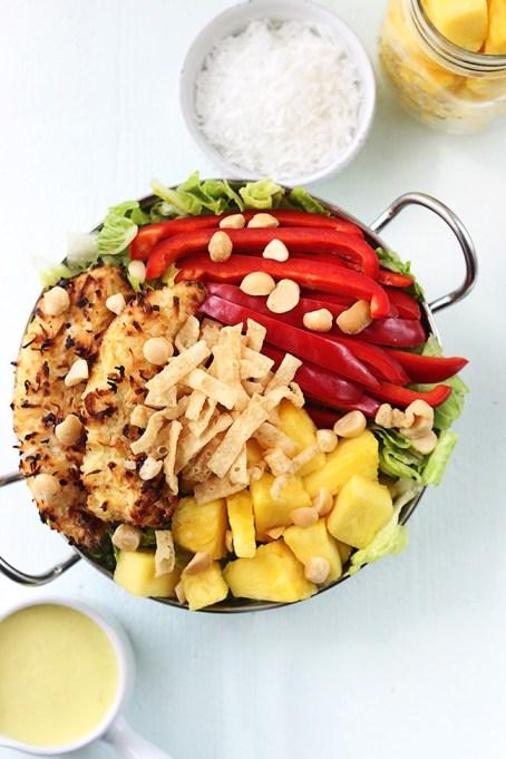 50 Easy Summer Salads: Piña Colada Chicken Salad | Summer Eats