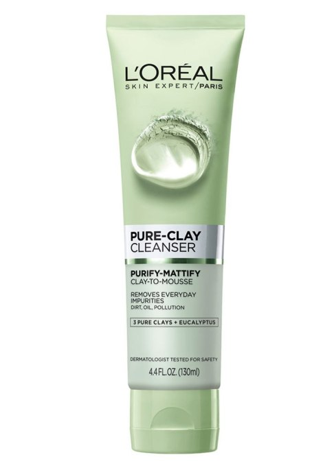 Best Under Ten Beauty Essentials: L'Oreal Paris Pure Clay Cleanser | Fall Beauty Products