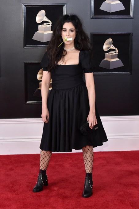 Grammys 2018 Best Dressed: Sarah Silverman