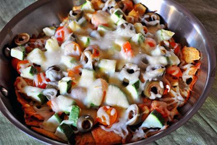 Tonight's Dinner: Mediterranean nachos recipe