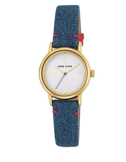 Cool Denim For Fall: Anne Klein Watch | Fall Fashion 2017