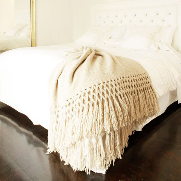 Luxe Throws For Your Bed or Sofa This Season | Layla Grayce Sefte Maya Throw Blanket